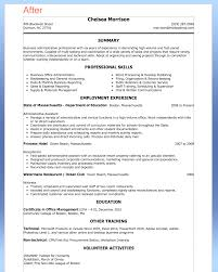 Examples Of Administrative Assistant Resumes Purchase Assistant Resume Format Free Resume Example And Writing