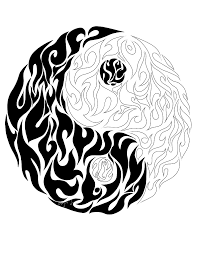 to print this free coloring page coloring yin yang details