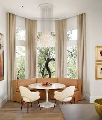 Modern Bay Window Curtains Decorating Living Room Livingom Best Curtains For Bay Window Inombest