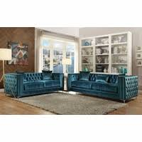 Velvet Tufted Loveseat Sofa Sets Traditional Luxury Designer Sofa Set