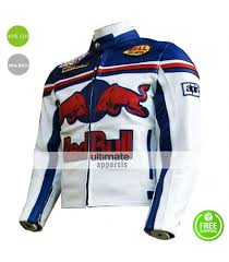 red motorcycle jacket red bull sports leather motorcycle jacket
