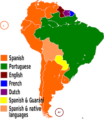 The Map Of South America by File Languages Of South America En Svg Wikimedia Commons