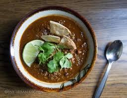 Urban Soup Kitchen Shanghai - heirloom bean chili tiny urban kitchen