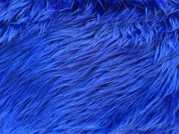 Faux Fur Electric Throw Royal Blue Luxury Long Pile Shaggy Faux Fur Fabric Fashion Fabrics