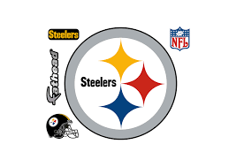 pittsburgh steelers logo wall decal shop fathead for pittsburgh