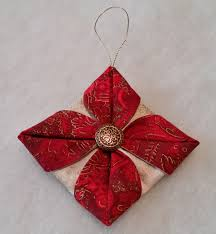 folded fabric ornaments to sew u2013 tutorial part 2 beth ann williams