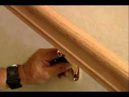 How To Install Stair Banister How To Install A Stair Handrail On Stairs This Old House Youtube