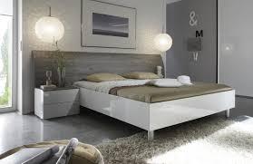chambre blanc laqué lit adulte design blanc laqué gris stevia lit chevet adulte