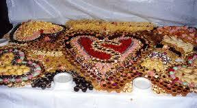 wedding cookie table ideas sle menus ideas