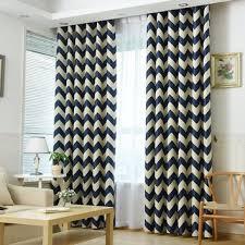 Navy Chevron Curtains Shop Navy Chevron Curtains On Wanelo