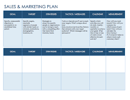 sales plan template personal sales planning template in pdf