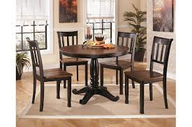 Owingsville Table And Base Ashley Furniture HomeStore - Ashley furniture dining table black