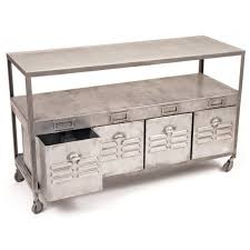 Steel Console Table Steel Polished Lockers Console Table A Cottage In The City