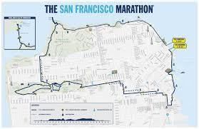 san francisco map my run marathon the san francisco marathon
