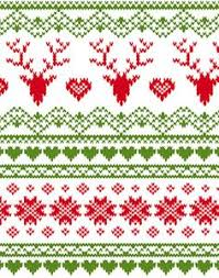 christmas pattern knit fabric tricksy knitter charts fair isle reindeer pattern 63801 70587