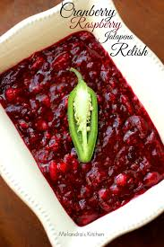 cranberry raspberry jalapeno relish for a zesty thanksgiving
