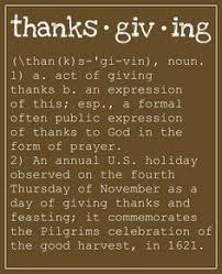 this thanksgiving let s remember the importance of giving thanks