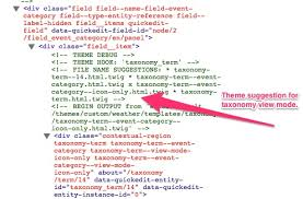 create a theme suggestion for taxonomy terms by view mode