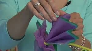 kids u0027 crafts how to make a tissue paper flower video dailymotion