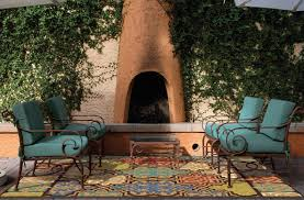 Mexican Patio Ideas by Rugs Beautiful Colorful Large Outdoor 9x12 Area Rugs With Metal