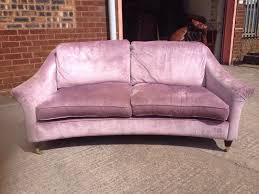 Laura Ashley Armchair Lovely Purple Chenille Laura Ashley Two Seater Sofa 2 Of 2
