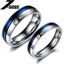 verlobungsringe preis 1 stück preis modeschmuck titan stahl ringe sind rot paar
