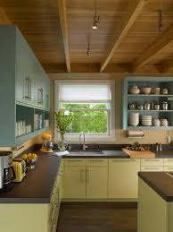 Antique Green Kitchen Cabinets Paint Kitchen Cabinets With Colors Of Your Style And Taste