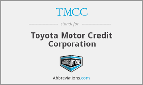 toyota motor credit number what is the abbreviation for toyota motor credit corporation