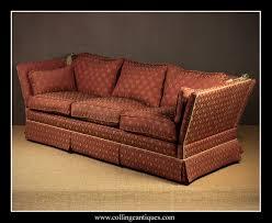 Knole Settee For Sale Pair Large Knole Sofas Collinge Antiques