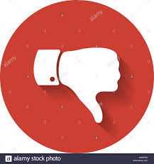 Cool Stock by Thumb Down Symbol Human Hand Icon Sign Of Like Good Or Cool