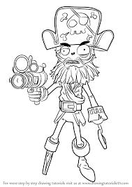 learn how to draw captain deadbeard from plants vs zombies