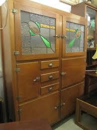 Kitchen Furniture Adelaide Antique Vintage Leadlight Meatsafe Cupboard Cabinet Kitchen