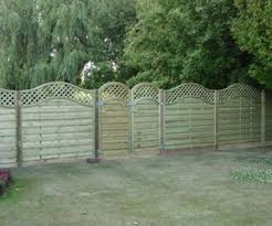 Fence Panels With Trellis Omega Lattice Trellis Curved Top Fence Panel Free Delivery
