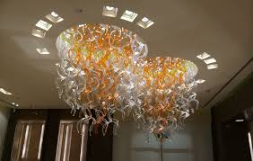 Chandelier Lights Singapore The Chandelier Glass Pendant Made By Vistosi For Marina Bay Sands