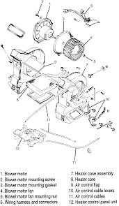 nissan altima 2005 blower motor resistor repair guides heating and air conditioning blower motor