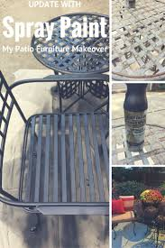 Metal Patio Furniture Paint - best 25 painting patio furniture ideas on pinterest painted