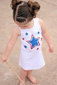 diy 4th of july dress for girls
