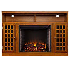 windsor corner infrared electric fireplace media cabinet 23de9047 pc81 amazon com merrick cabinet brown 26 infrared firebox kitchen
