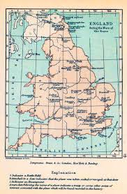 Map Of Kent England by Map Of England 1455 1485 The Wars Of The Roses