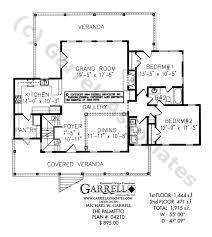 palmetto cottage house plan house plans by garrell associates inc