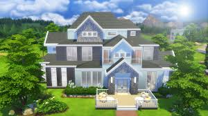 family and home the sims 4 speed build large family home youtube