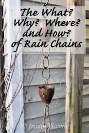 best 25 rain chains ideas on pinterest rain garden decorative