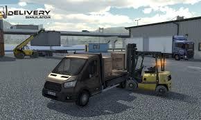 simula games delivery simulator