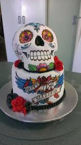 katie u0027s sugar skull birthday cake cake jemlewkascupcakes1 eat