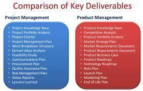 project management vs product management educause