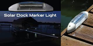 solar dock lights h2 led dock lighting vp outdoor