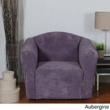 purple sofa slipcover fresca aubergine sofa slipcover purple love seat slip cover