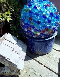 Bowling Ball Garden Art Make The Best Of Things Glass Garden Balls Diy