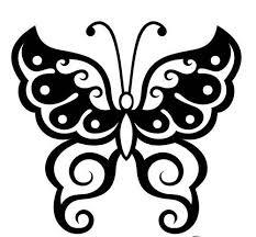 butterfly tribal designs http tattoomenow com