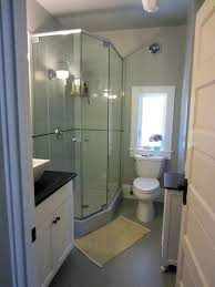 Bathrooms Showers Cool Small Bathroom With Shower Room Inspirations